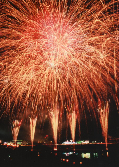 Izunokuni fireworks display